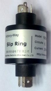 2路插片式集电环,插头式集电环,直插式集电环