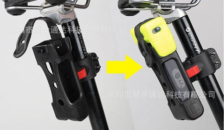 台湾立兆六折锁自行车锁电动车山地车锁摩托车防盗锁防液压