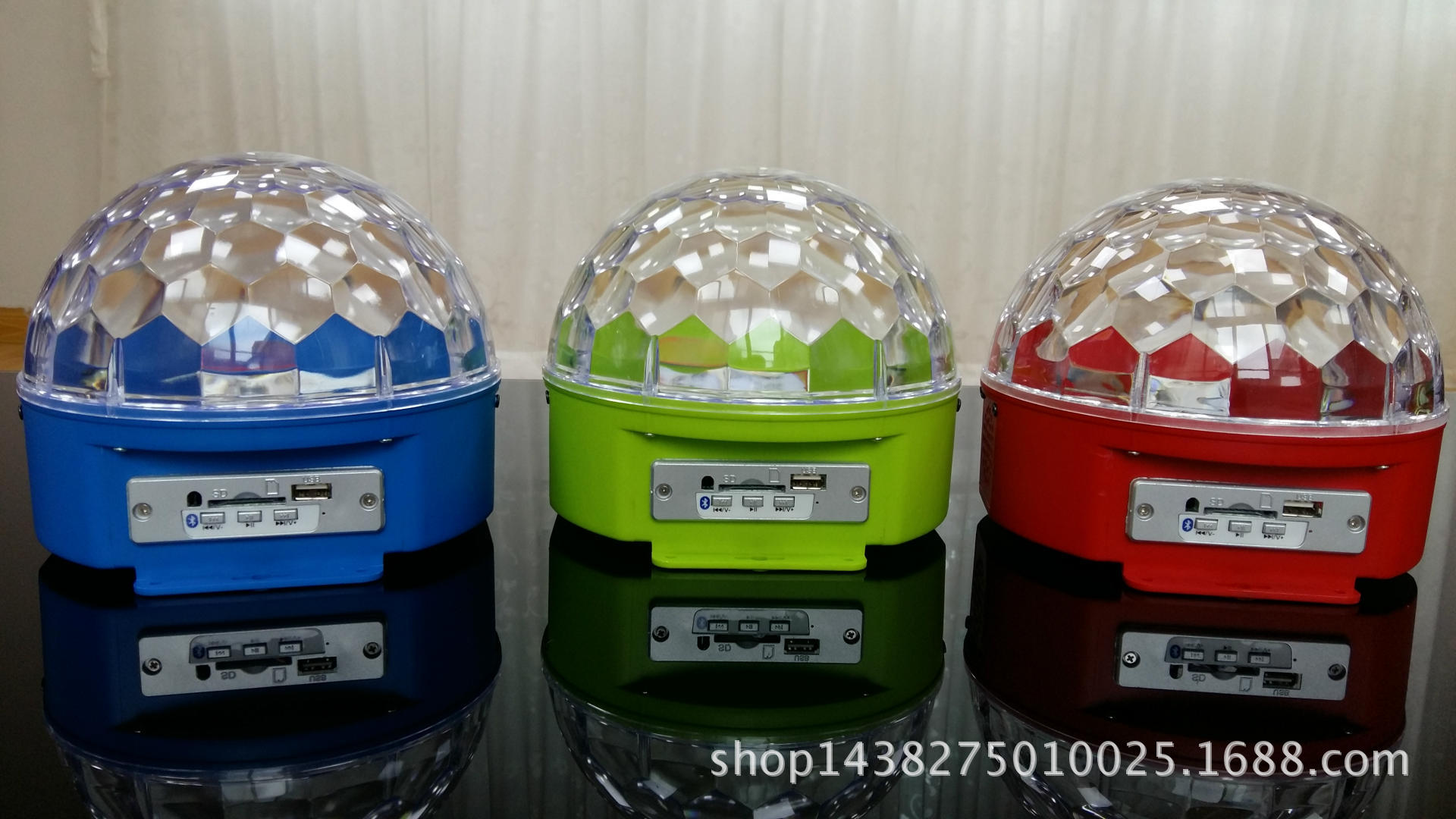 音响充电水晶魔球/激光舞台灯/车充充电水晶魔球/LED七彩旋
