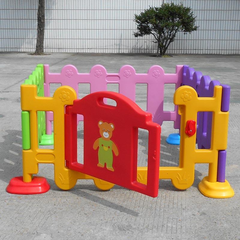 儿童塑料栅栏 幼儿园塑料围栏 幼儿围栏 儿童塑料护栏 幼儿小栅栏