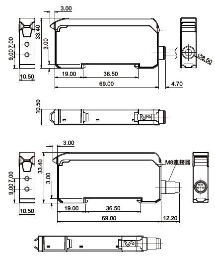 光纤放大器ff-303接线图