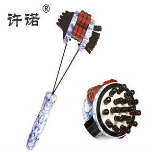 厂家直销 健康锤 保健锤 敲背健身锤 许诺006 青花瓷保健锤