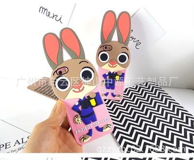疯狂动物城苹果6s手机壳硅胶iphone6