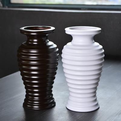 欧式现代简约花瓶 客厅陈设插花摆件