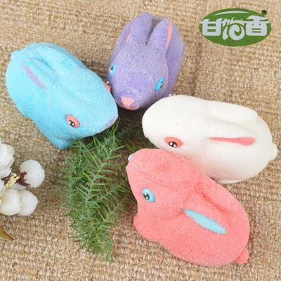 生产棉花糖_糖果厂家直批品牌创意造型手工立体兔子