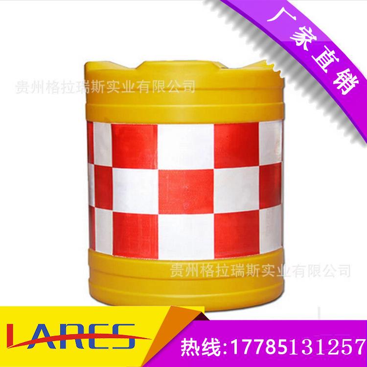 吹塑防撞桶_供应塑料小水马
