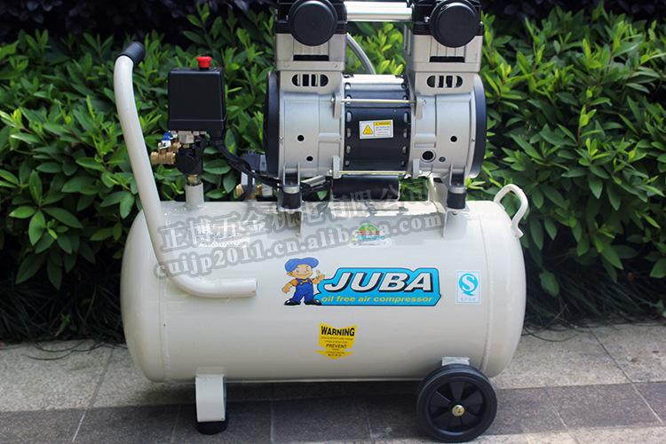 上海飓霸空压机3540静音无油压缩机12KW小型家用喷漆木工打气泵图片