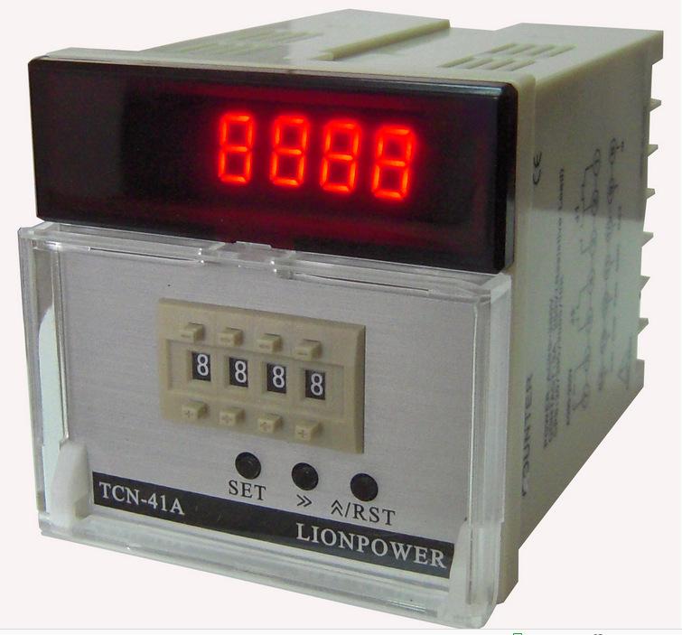厂家供应 智能拨码计数器计米器 品质保证 狮威 TCN41A图片