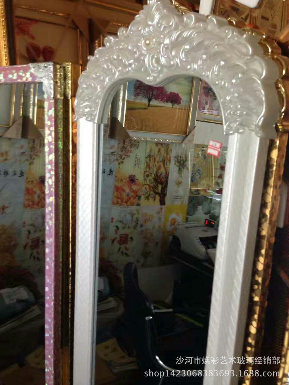 焕彩艺术玻璃电视拼镜玻璃镜面欧式沙发餐厅