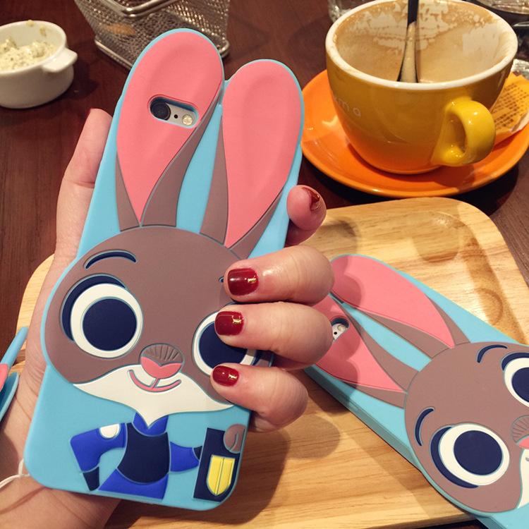 苹果手机壳_iphone7疯狂动物城手机壳
