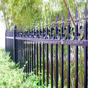 欧式庭院铁艺护栏小区围墙铁艺栏杆别墅户外铁艺防护