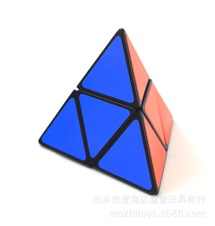 圣手金字塔魔方_二阶二层三角形4面体