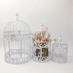 欧式铁艺装饰鸟笼 橱窗小摆件
