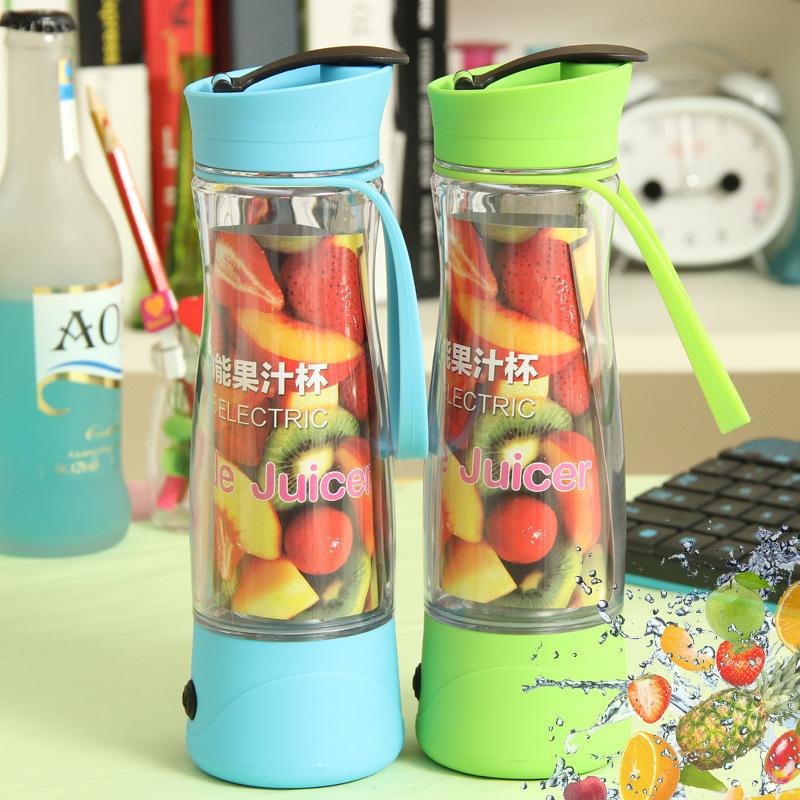 新款特价 迷你充电果蔬机 韩国家用便携可爱时尚多功能榨汁机批发图片