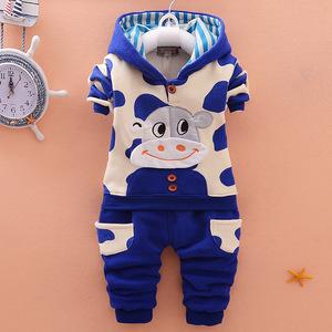 婴儿童套装男秋冬季女宝宝2秋季衣服0岁1个月3秋装