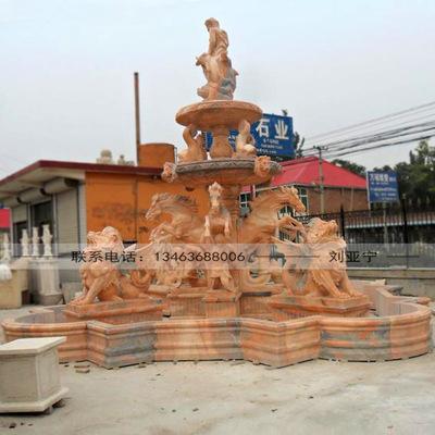 大型欧式喷泉_石雕喷泉大型欧式喷泉广场园林流水