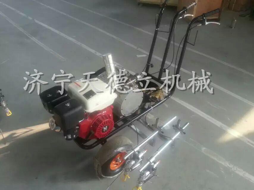 应TDl65 塑胶跑道专用厂家直销带转换轮 混合漆划线划线机