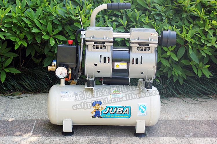 上海飓霸空压机气泵1509 无油静音小型家用牙科泵迷你木工喷漆图片