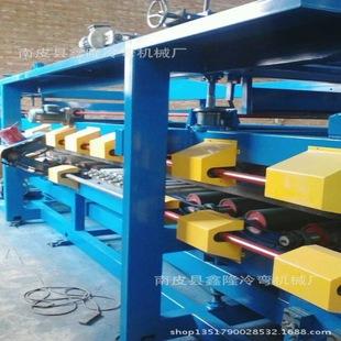 建筑厂房专用保温岩棉聚苯乙烯夹心板机屋面板 墙面板冷弯机定制