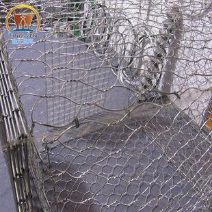 厂家直销石笼网高强度拧花网镀锌格宾网**堤坡防护网物美价廉