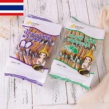 批发泰国进口休闲食品特产刷我的卡超薄饼干儿童休闲零食12包/箱