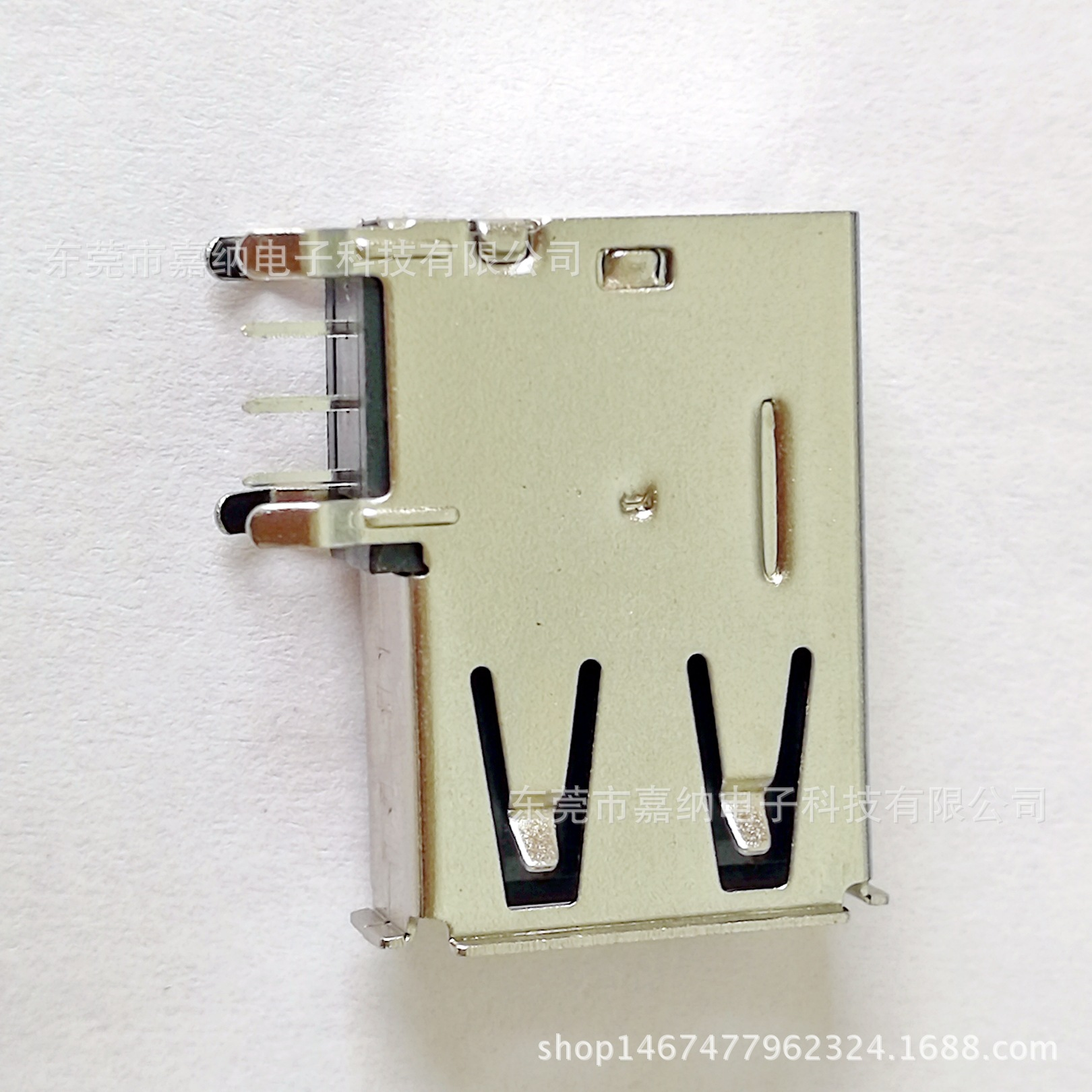 厂家直销电脑连接器USB 2.0 A/F母座 u
