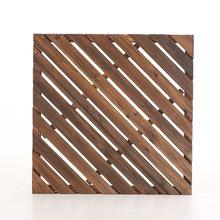 厂家直销户外碳化木地板防腐木装饰桑拿葡萄架室外实木地板