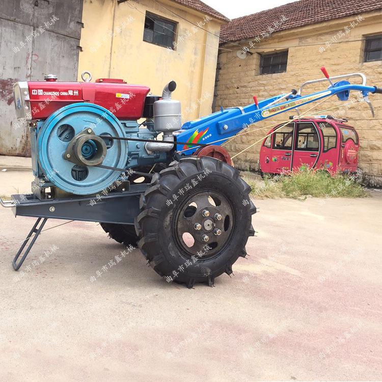 柴油多功能农用土地耕整手扶拖拉机 遵义8-20马力手扶拖拉机