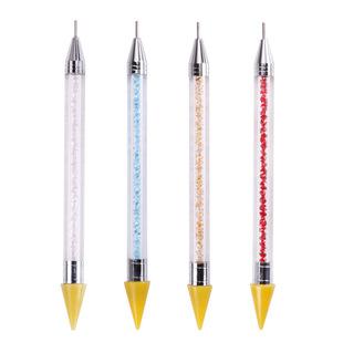 DIY гвозди алмазная ручка двойная точка сверло ручка карандаш гвозди алмазный инструмент поставляет пятно оптом