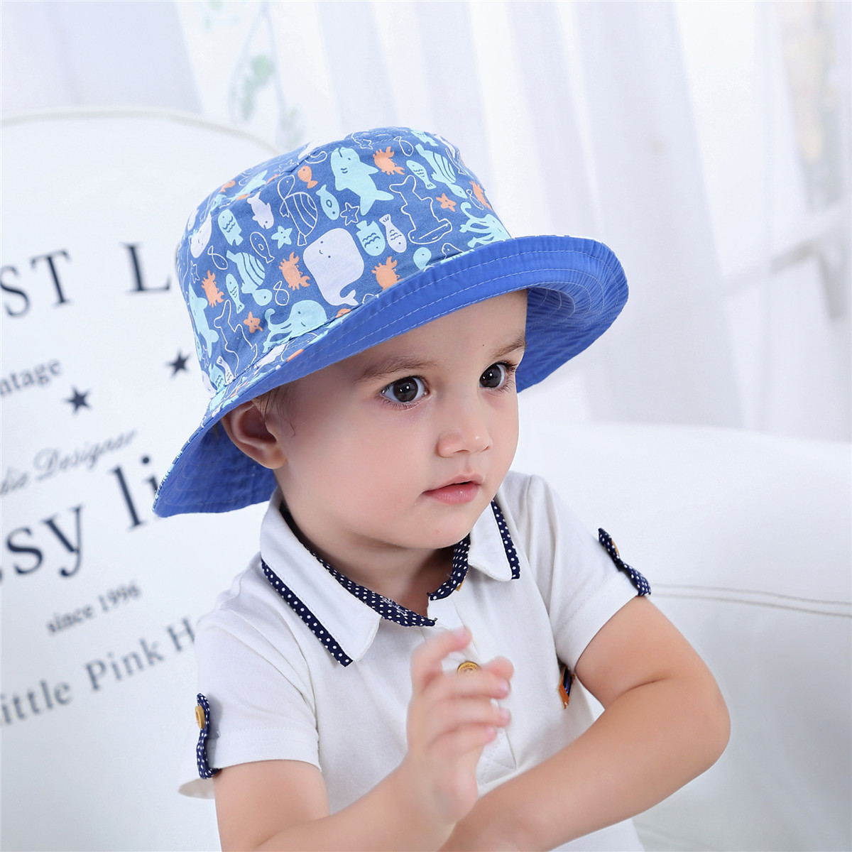 Кепка на ребенке фото