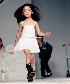 世界上最漂亮的女孩在中国年仅9岁