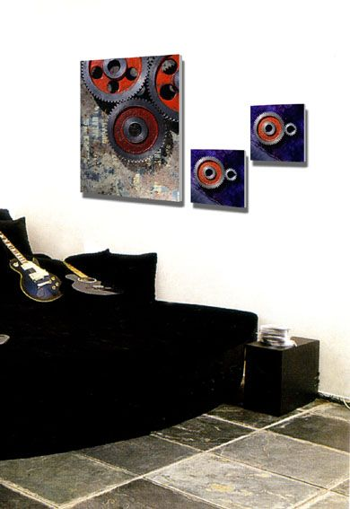 居室中绝色艺术装饰画 点缀个性 时尚工艺品 家居礼品 工艺礼品 礼品、工艺品、饰品