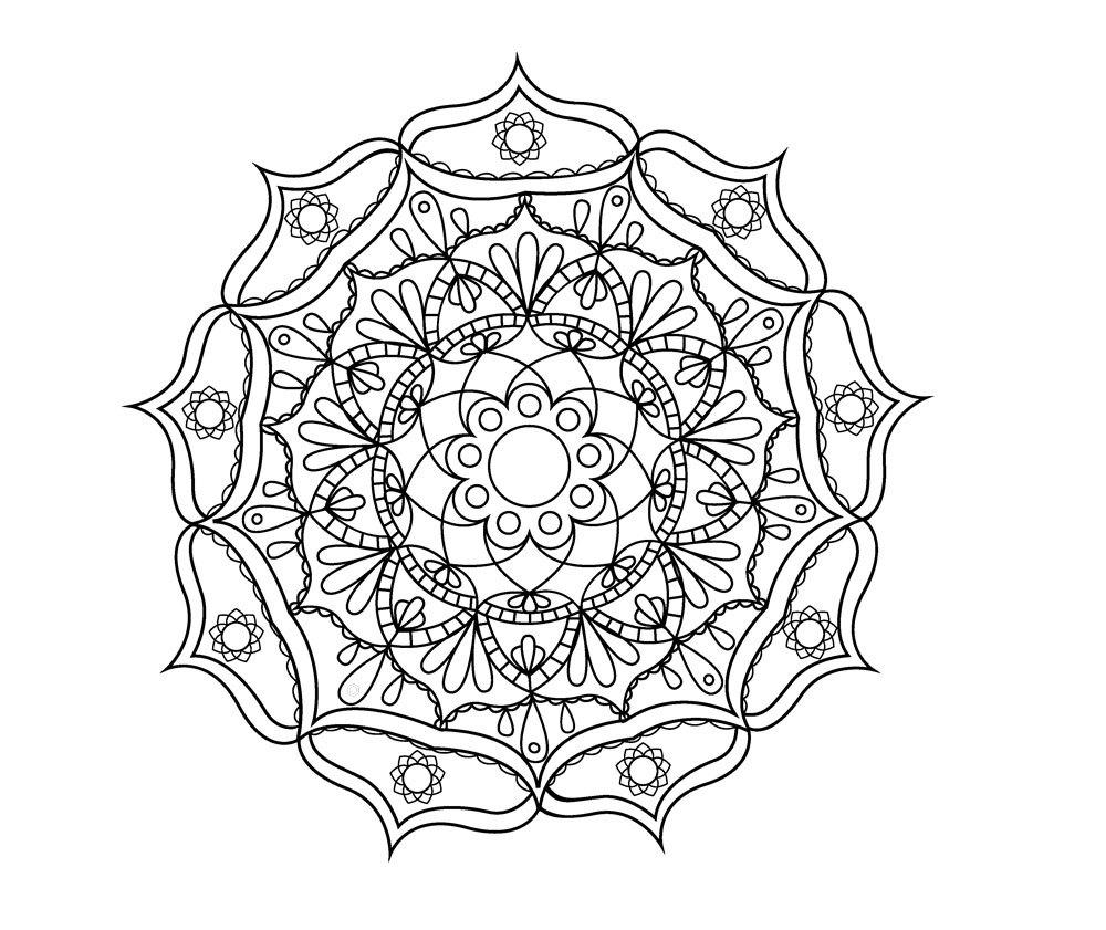 Satin Al Suslemeleri Ev Hindistan Budizm Mandala Cicek Sanat Duvar